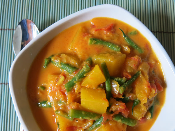 Pumpkin Curry with Jasmine Rice