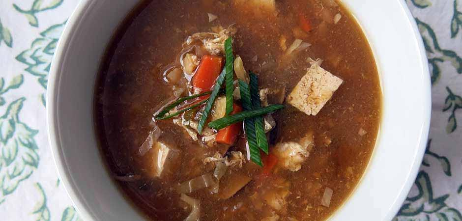 Hot and Sour Winter Vegetable Soup