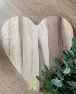 Heart Shaped Chopping Board