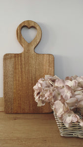 Large Heart Handle Chopping Board