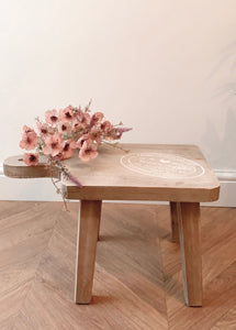 Rectangular Farmhouse Stool