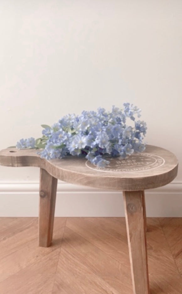 Round Farmhouse Stool