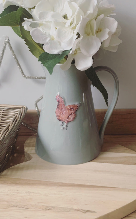 Country Chicken Large Jug