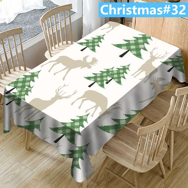 (Christmas20-34)3D printing-Removable Washable Dinner Tablecloth(2020Christmas specials)