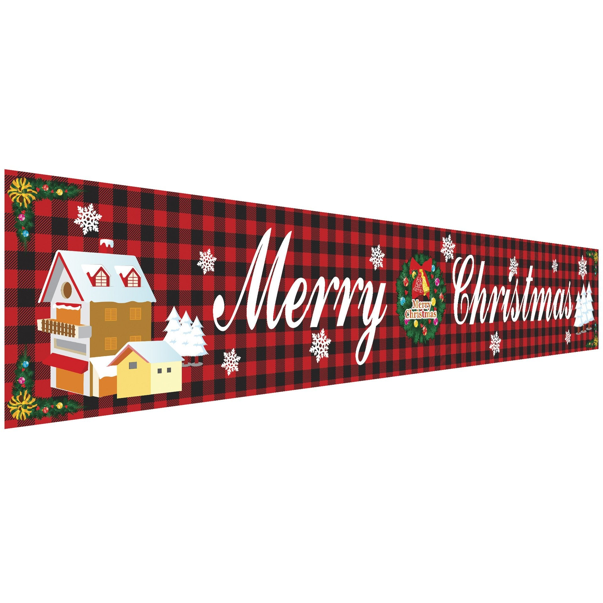 Christmas Sale!! Outdoor Banner Flag Pulling | Merry Christmas
