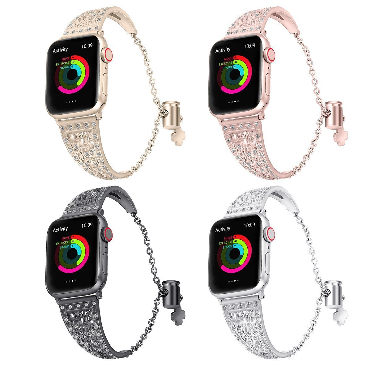 Apple diamond watch strap(ONLY $24.99 The Last Day)