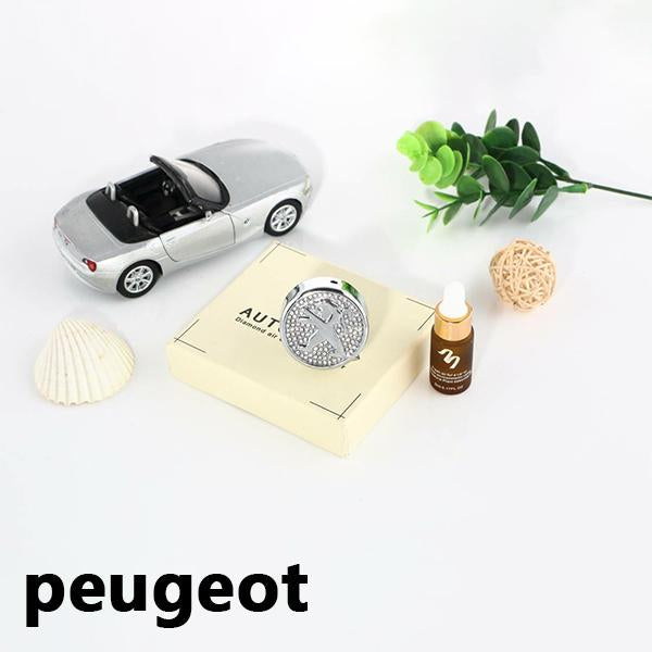 .Car Logo Perfume Air Freshener Outlet Vent Clip