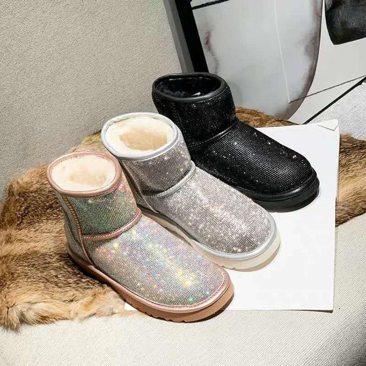 e???Christmas Salee???>>Womens Warm Waterproof Snow Boots