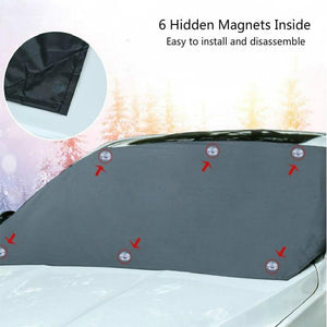 UNIVERSAL PREMIUM WINDSHIELD SNOW COVER SUNSHADE (50% OFF 🔥 CHRISTMAS SALE)