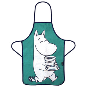 Moomin Troll Child's Apron in a Tin