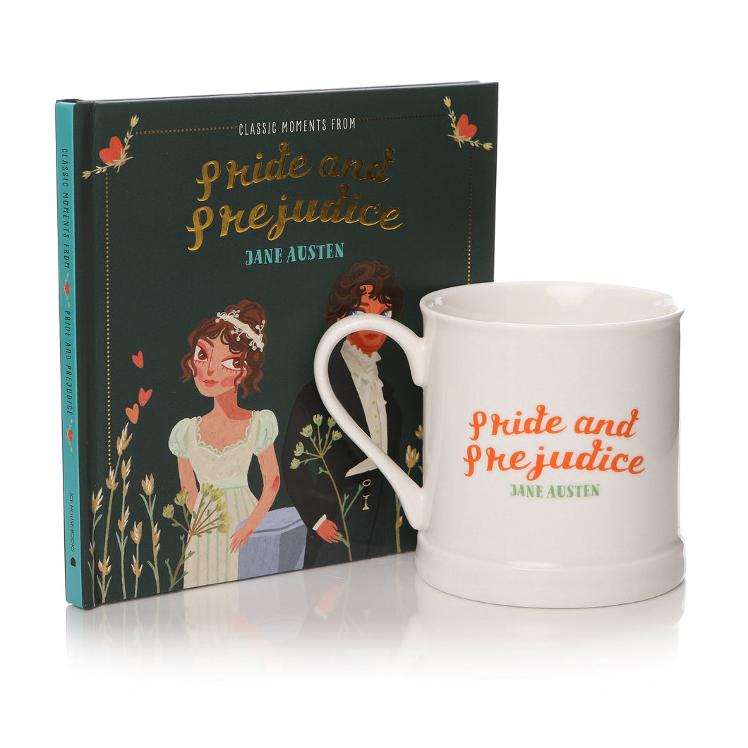 Classic Moments From Pride & Prejudice Book & Mug Gift Set