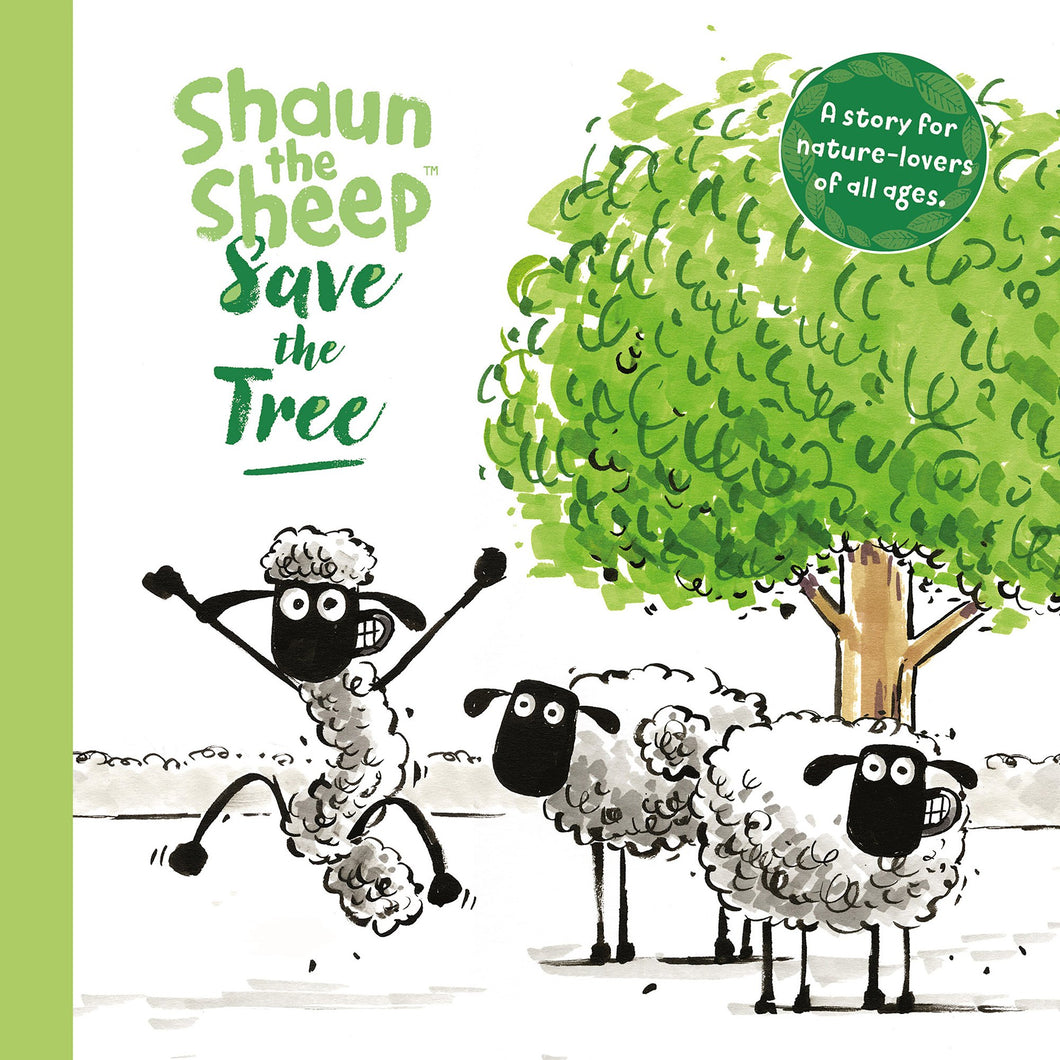 Shaun The Sheep Giftbook - Save The Tree