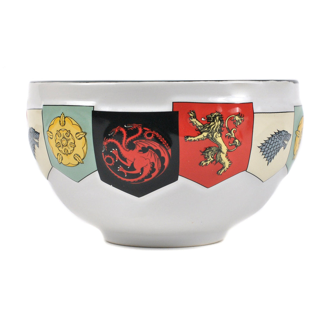 Game of Thrones Bowl - House Sigils