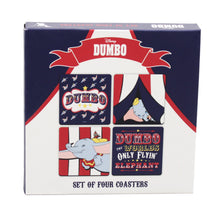Load image into Gallery viewer, Dumbo Set of 4 Coasters