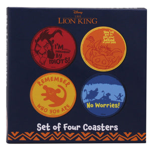 The Lion King Set of 4 Coasters