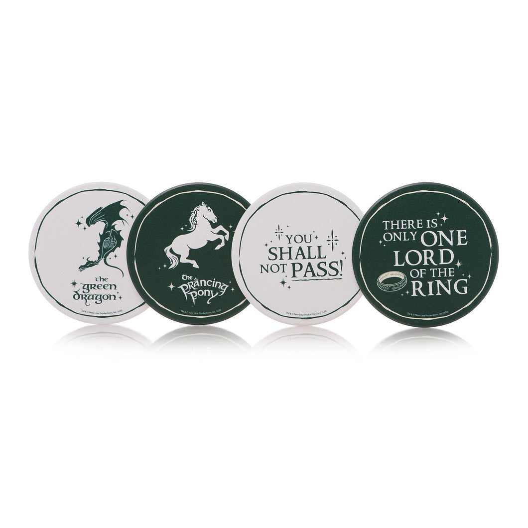 The Lord of the Rings Set of 4 Coasters
