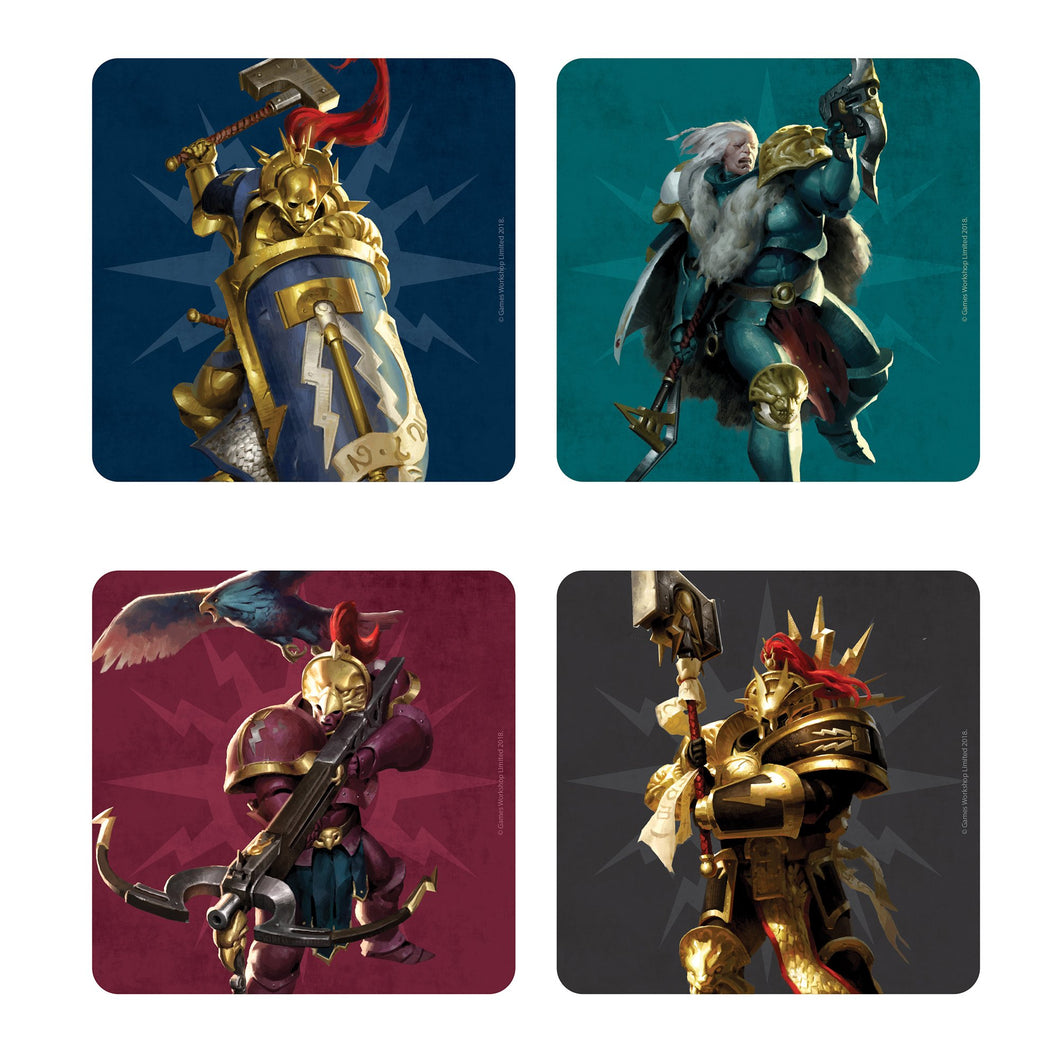 Warhammer Age of Sigmar Set of 4 Coasters