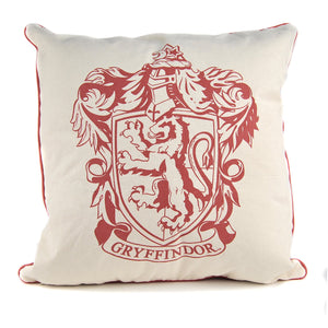 Harry Potter Filled Cushion - Gryffindor Crest