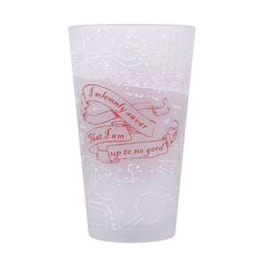 Harry Potter Cold Changing Glass - Marauder's Map