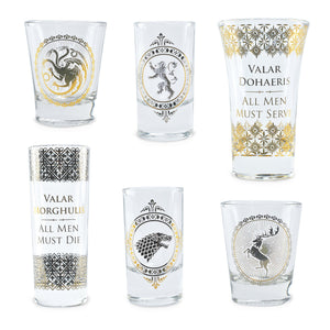 Game of Thrones Shot Glasses Set
