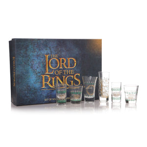 The Lord of the Rings Glass Set