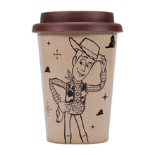 Load image into Gallery viewer, Toy Story Travel Mug - Woody (Reach for the Sky)