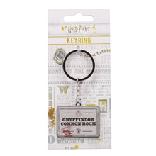 Load image into Gallery viewer, Harry Potter Keyring - Gryffindor Common Room