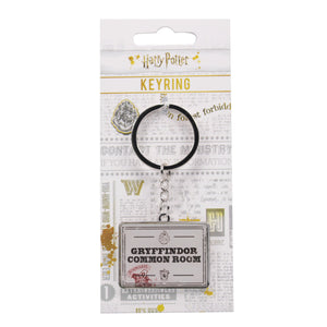 Harry Potter Keyring - Gryffindor Common Room