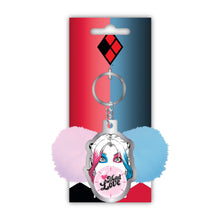 Load image into Gallery viewer, DC Comics Harley Quinn Keyring - Mad Love