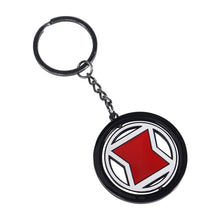 Load image into Gallery viewer, Marvel Black Widow Rotating Keyring