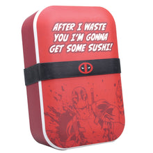Load image into Gallery viewer, Deadpool Bamboo Lunch Box