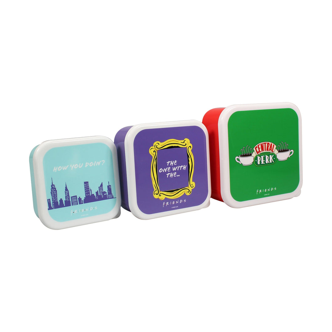 Friends Set of Three Lunchboxes - Central Perk