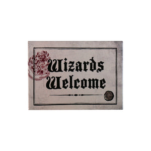 Harry Potter Magnet - Wizards Welcome