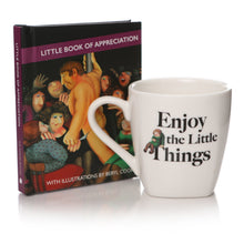 Load image into Gallery viewer, Beryl Cook: Little Book of Appreciation Mini Book & Espresso Cup Gift Set