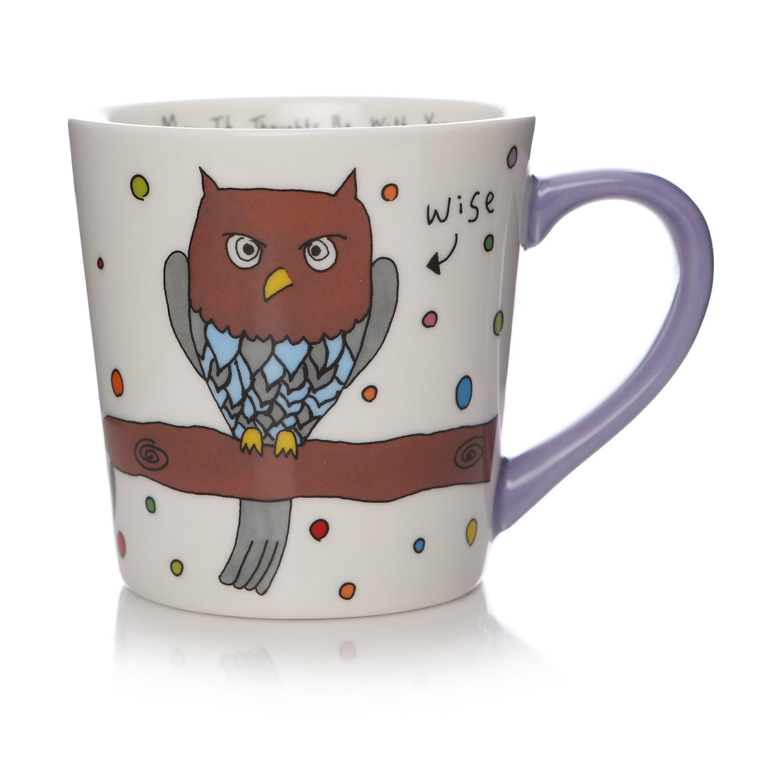 May The Thoughts Be With You Mug - Owl