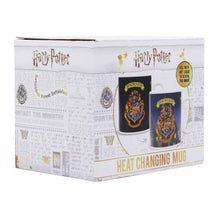 Load image into Gallery viewer, Harry Potter Heat Changing Mug - Hogwarts Crest