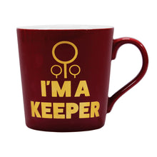 Load image into Gallery viewer, Harry Potter Tapered Mug - Quidditch