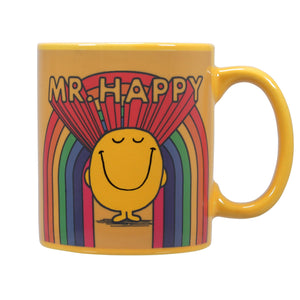 Mr. Men Little Miss Heat Changing Mug - Mr. Happy
