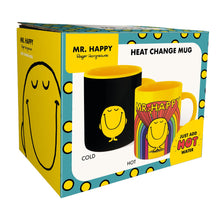 Load image into Gallery viewer, Mr. Men Little Miss Heat Changing Mug - Mr. Happy