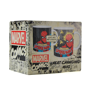 Spider-Man Heat Changing Mug