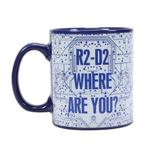 Load image into Gallery viewer, Star Wars Heat Changing Mug - R2-D2