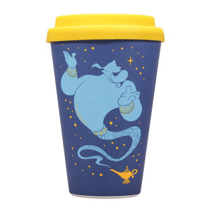Aladdin Bamboo Travel Mug - Genie (Wrong Side of the Lamp)
