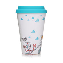 Load image into Gallery viewer, Toy Story 4 Bamboo Travel Mug - Forky