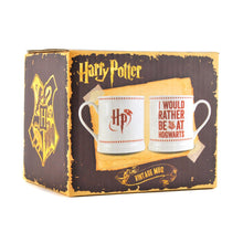 Load image into Gallery viewer, Harry Potter Vintage Mug - Hogwarts Slogan