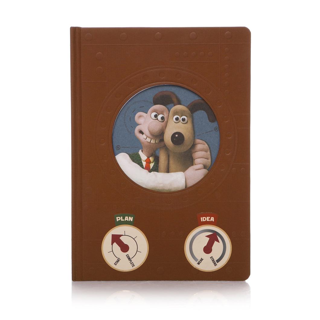 Wallace & Gromit A5 Inventor's Notebook