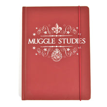 Load image into Gallery viewer, Harry Potter A5 Notebook - Muggle Studies