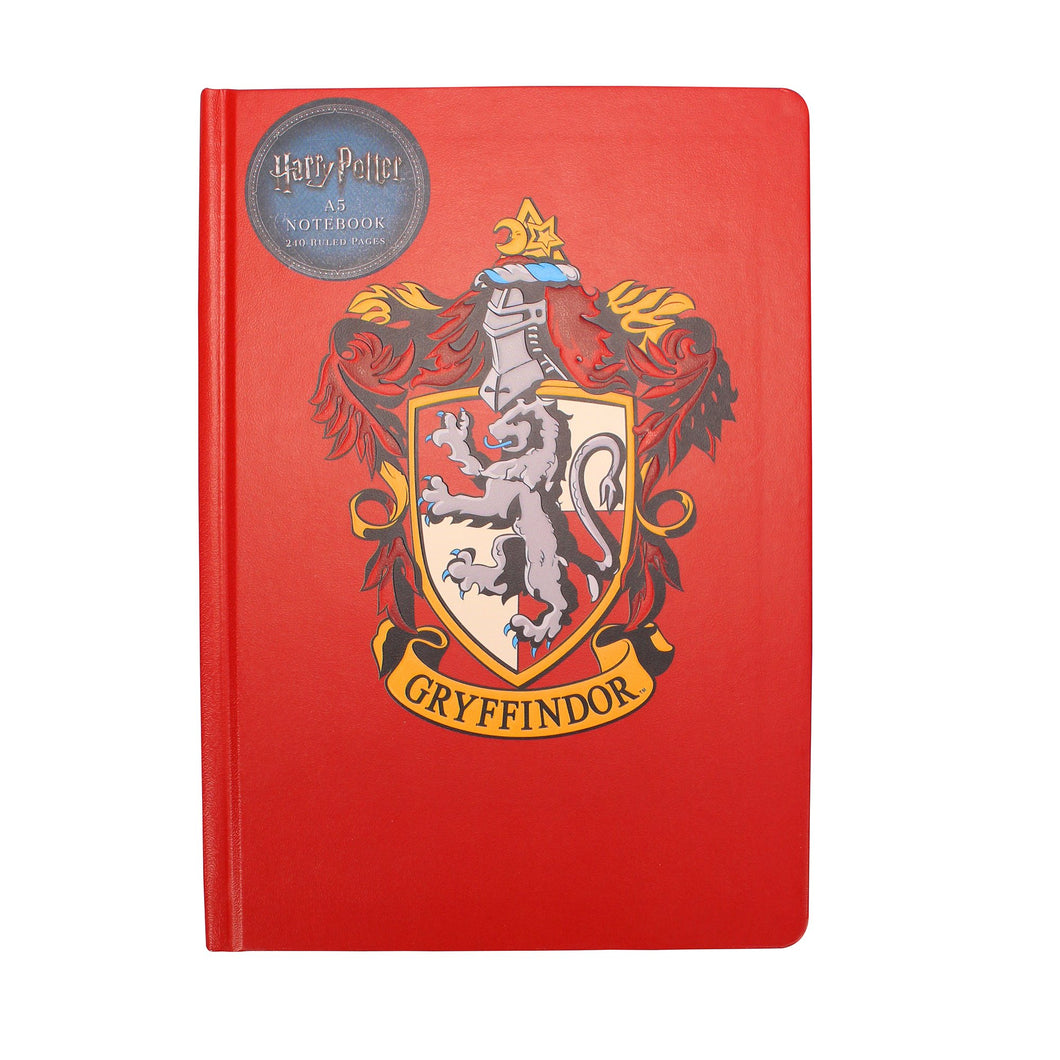 Harry Potter A5 Notebook - Gryffindor Crest
