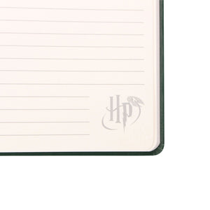 Harry Potter A5 Notebook - Slytherin Crest