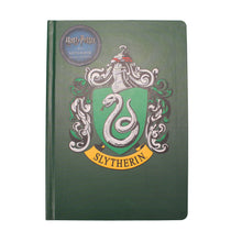 Load image into Gallery viewer, Harry Potter A5 Notebook - Slytherin Crest