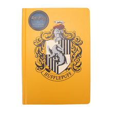 Load image into Gallery viewer, Harry Potter A5 Notebook - Hufflepuff Crest